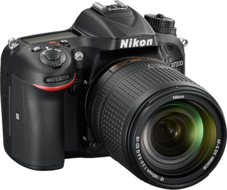 "Nikon D7200. Image copyright Nikon, Inc., and used with ""fair use"" for commentary."